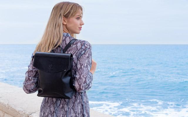 Sieviešu dabīgās ādas somas